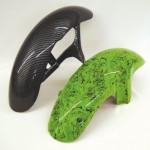 Oberflächenveredelung für Motorradteile